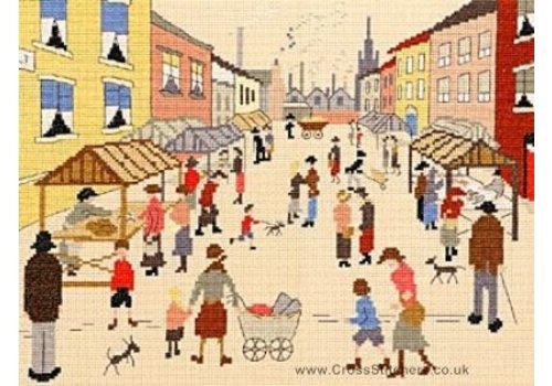 Bothy Threads Lowry - Friday Market - Bothy Threads