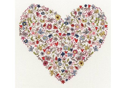 Bothy Threads Love - Love Heart - Bothy Threads