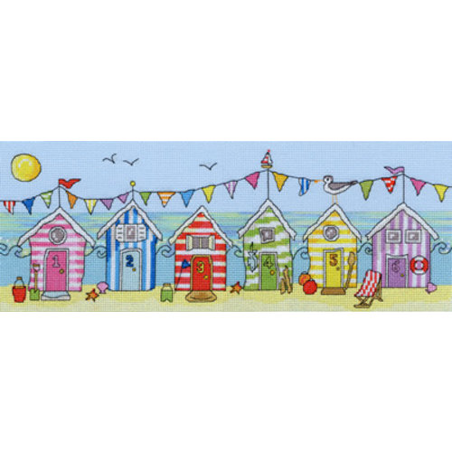 Bothy Threads Fun! - Beach Hut Fun - Bothy Threads