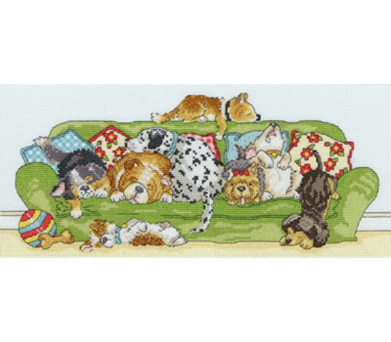 Animals - Lazy Dogs - Bothy Threads