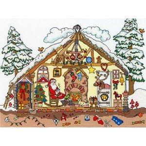 Bothy Threads Cut Thru' - Christmas Bothy - Bothy Threads