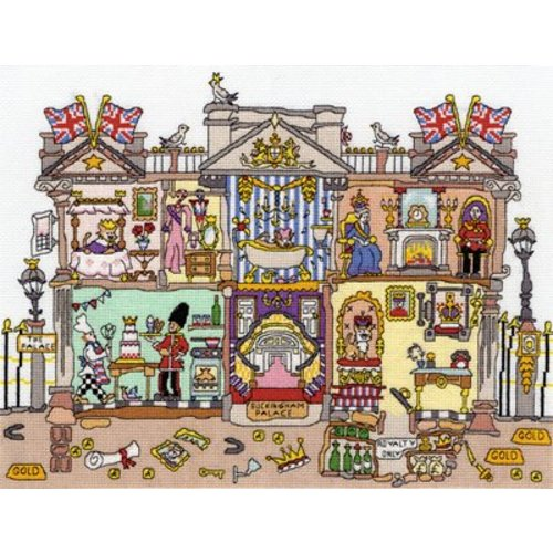 Bothy Threads Cut Thru' - Buckingham Palace - Bothy Threads