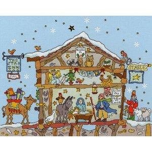 Bothy Threads Cut Thru' - Nativity - Bothy Threads