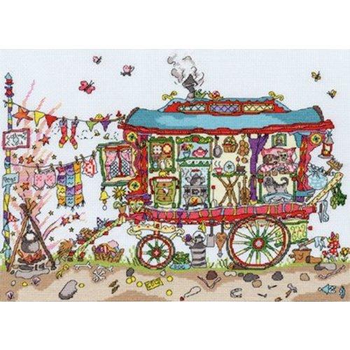 Bothy Threads Cut Thru' - Gypsy Wagon - Bothy Threads