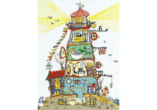Bothy Threads Cut Thru' - The Lighthouse - Bothy Threads