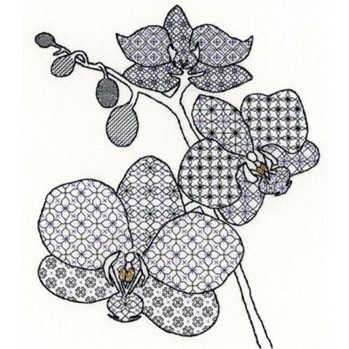 Bothy Threads Blackwork - Orchid - Bothy Threads