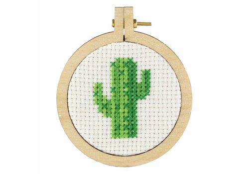 Stitchonomy  Cactus - mini hoop