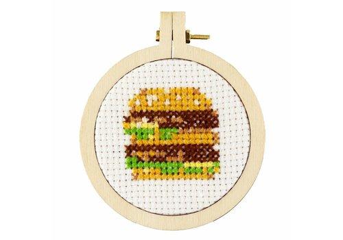 Stitchonomy  Burger - mini hoop