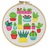 Stitchonomy  Cactus - hoop