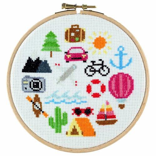 Stitchonomy  Reizen - hoop