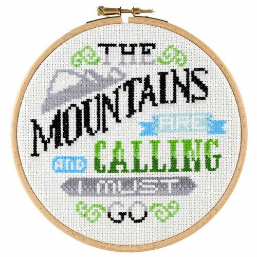 Stitchonomy  Mountains - hoop