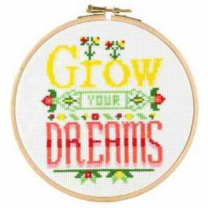 Stitchonomy  Grow Dreams - hoop