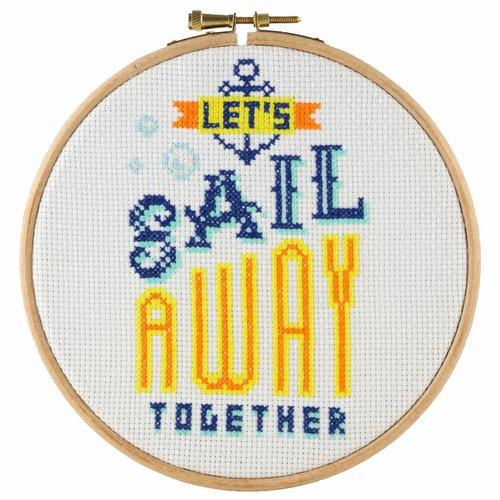 Stitchonomy  Sail Away - hoop