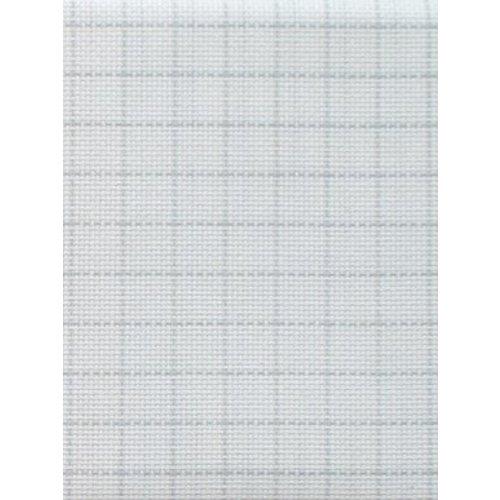 Zweigart Easy Count Aida 16 ct, White 110 cm