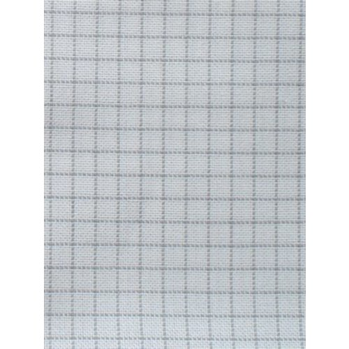 Zweigart Easy Count Lugana 25 ct, White 50x70 cm