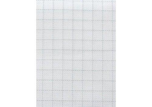 Zweigart Easy Count Aida 18 ct, White 50x55 cm