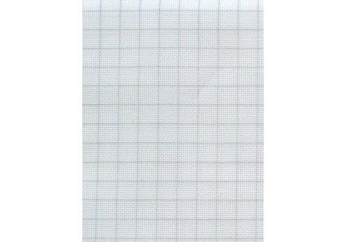 Zweigart Easy Count Aida 20 ct, White 110 cm