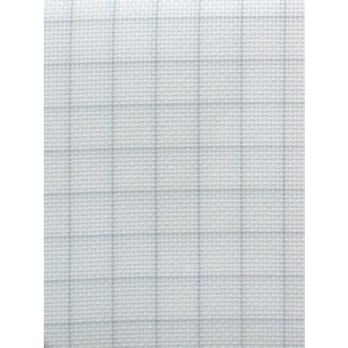 Zweigart Easy Count Aida 14 ct, White 50x55 cm