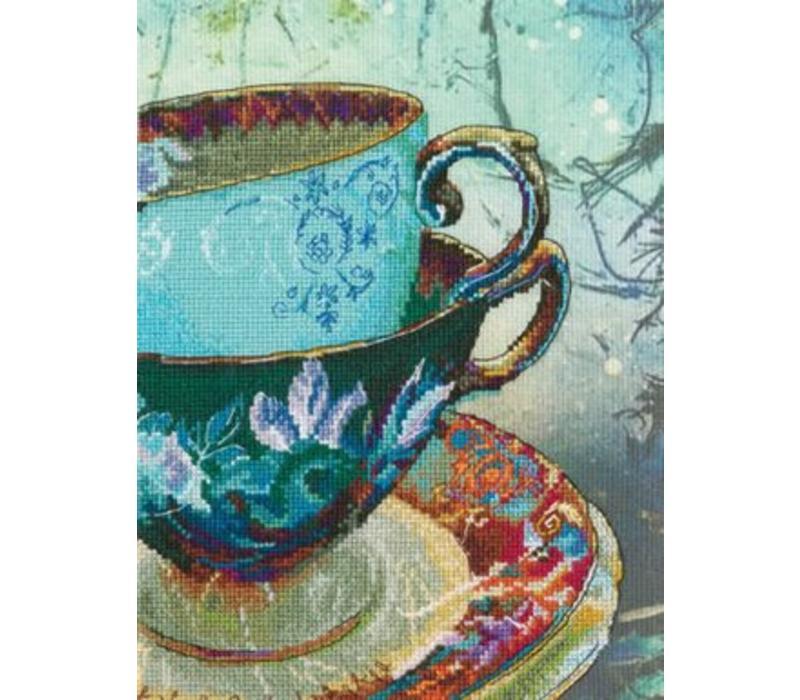 Antique Porcelain (met bedrukte achtergrond)