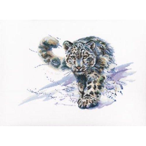 RTO Cross stitch kit Snow Leopard - RTO
