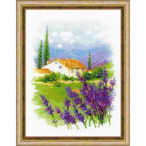 RIOLIS Cross stitch kit Farm in Provence - RIOLIS