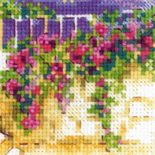 RIOLIS Cross stitch kit Provence Street - RIOLIS