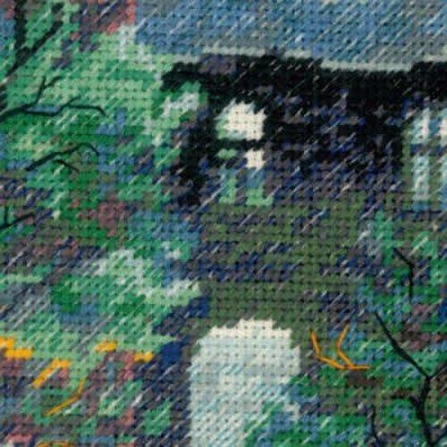 RIOLIS Cross stitch kit Rainy Summer - RIOLIS