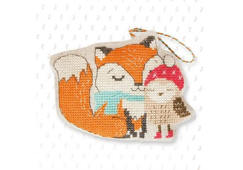 Luca-S Borduurpakket Hanger Fox and Owl - Luca-S