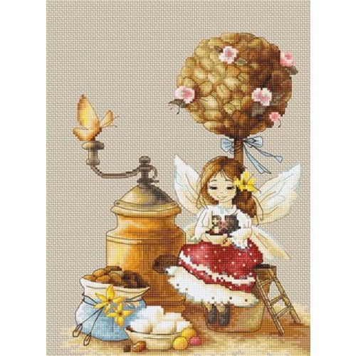 Luca-S Borduurpakket Coffee Fairy - Luca-S
