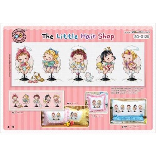 Soda Stitch Cross stitch chart The Little Hair Shop - Soda Stitch