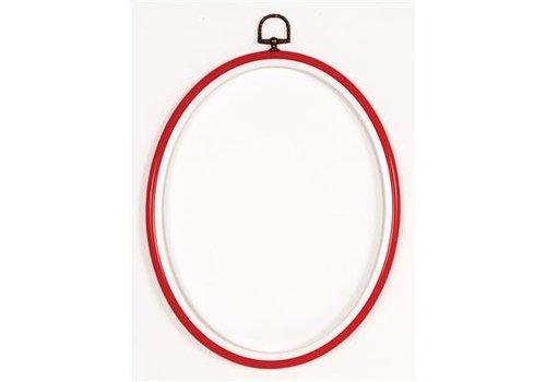 Vervaco Kunststoflijst rood 20x25 cm (p.1st)
