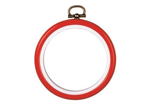 Vervaco Kunststoflijst rood Ø 7,5 cm (p.1st)
