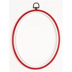 Vervaco Kunststoflijst rood 10x14 cm (p.1st)