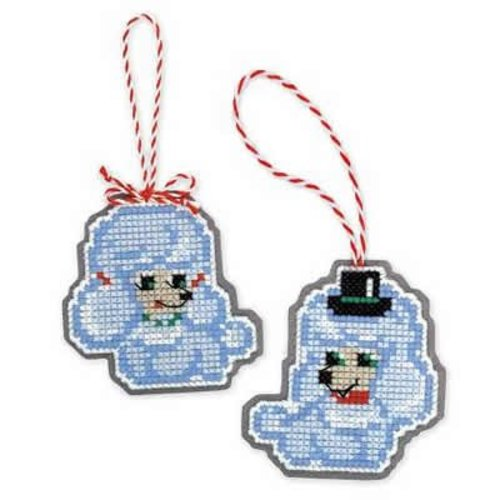 RIOLIS Borduurpakket Christmas Tree Decoration Dogs - RIOLIS