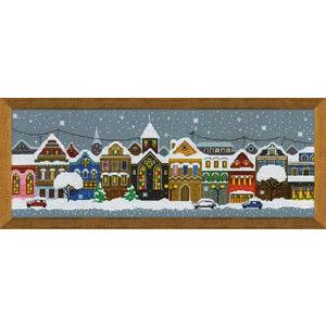 RIOLIS Borduurpakket Christmas City