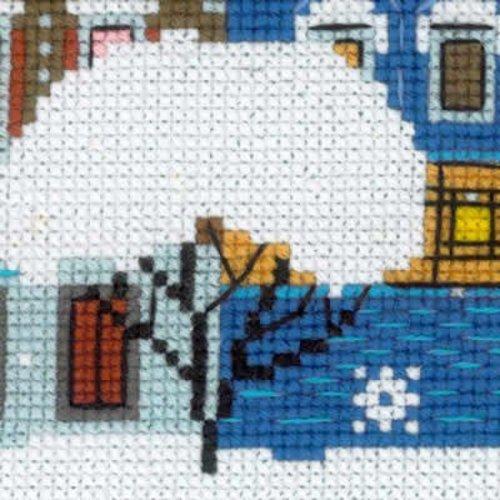 RIOLIS Borduurpakket Christmas City - RIOLIS