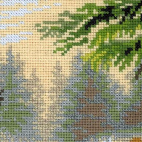 RIOLIS Borduurpakket Forest Hostess - RIOLIS