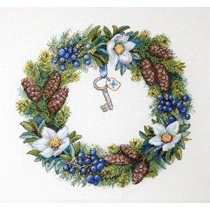 Merejka Borduurpakket Winter Wreath