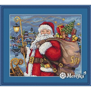 Merejka Borduurpakket Santa is Coming!