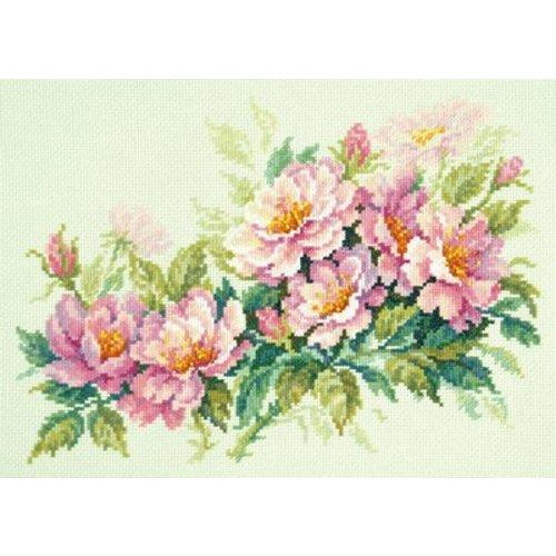 Chudo Igla Borduurpakket Dog-rose flowers - Chudo Igla