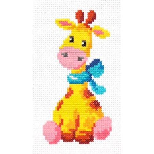 Chudo Igla Borduurpakket Giraffe - Chudo Igla