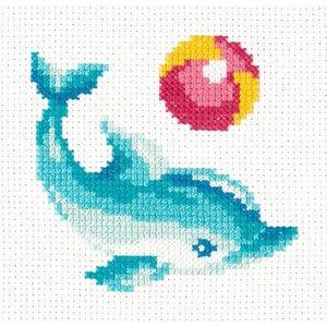 Chudo Igla Borduurpakket Dolphin