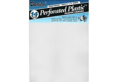 Plastic stramien fijn - 5,4 kruisje