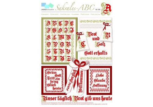 Lindner Patroon Lindner 095 - Sacraal Alfabet