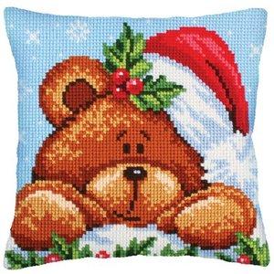 Collection d'Art Christmas with a teddybear