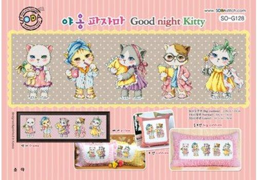 Soda Stitch Good Night Kitty
