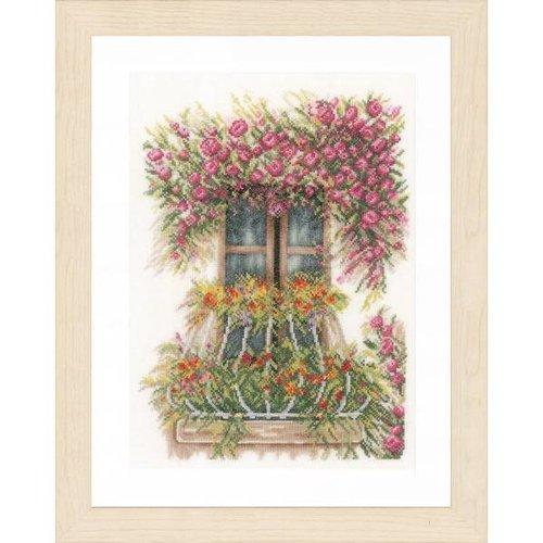 Lanarte Telpakket kit Balkon met bloemen