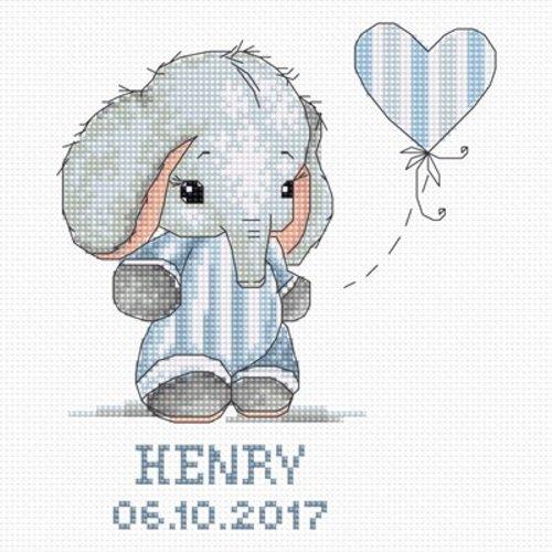 Luca-S Geboortetegel - Henry (boy)