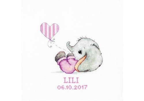 Luca-S Geboortetegel - Lili