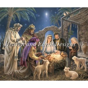 Heaven and Earth Designs  Donna Gelsinger: The Nativity